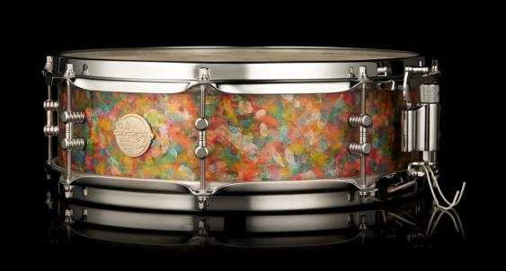 """Doc Sweeney """"Seurat"""" 4x14 Steam Bent Maple snare Drum"""