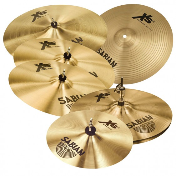 SABIAN Xs20 Super Cymbal Set Brilliant