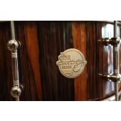 """Doc Sweeney """"Monterillo Rose"""" 6x14 Stave Pau Ferro (Monterillo Rosewood) Snare Drum"""