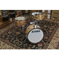 TAMA Club JAM 4-piece shell pack Satin Blonde 12x18 BD, 7x10 TT, 7x14 FT, 5x13 SD