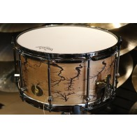 Noble and Cooley Classic Maple 7x14 Single Ply Snare, Fractal Natural Oil