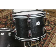 "Ludwig Limited Edition Legacy Mahogany ""Black Cat"" Shell pack, 9x13, 16x16, 14x22"