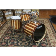 TAMA Starclassic Performer 4-piece shell pack, 8x10, 9x12, 14x16 Floor with 16x22 bass drum - Caramel Aurora Finish