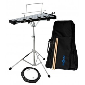 MAJESTIC BELLS & PRACTICE PAD KIT WITH BACKPACK