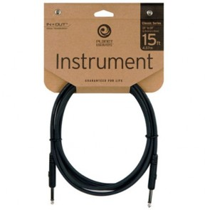 Planet Waves 15' Classic Series 1/4'' Instrument Cable