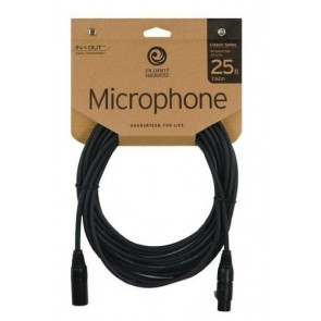 Planet Waves Classic Series Microphone Cable, 25 feet