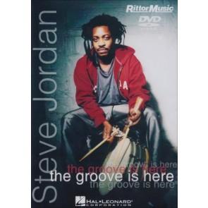 Hal Leonard Steve Jordan - The Groove Is Here - DVD - Instructional/Drum/DVD