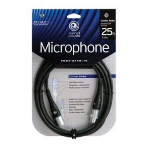Planet Waves Custom Series Microphone Cable, 25 feet