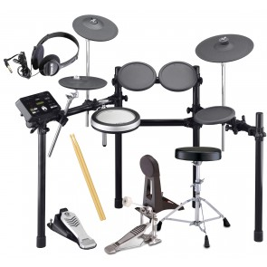 Yamaha DTX522K Electronic Drum Set Bundle