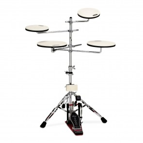 DW Drum Workshop - DWCPPADTS5 - Go Anywhere Pad Set w/ Stand