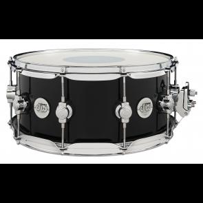 DW Design Series Black Friday Exclusive 6.5x14 Snare Drum in Piano Black