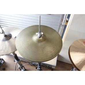 """Used Zildjian A 14"""" New Beat Hi Hat Pair"""