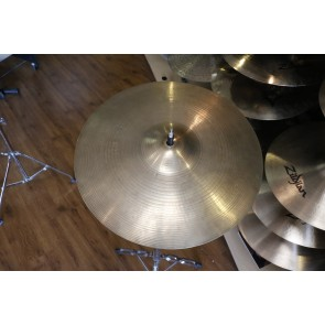 "Used Zildjian 14"" New Beats, slight hole enlarged on top cymbal"