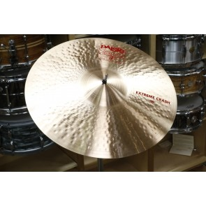 "Paiste 2002 18"" Extreme Crash Cymbal-Demo of Exact Cymbal-1648g"