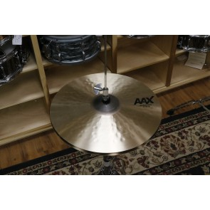 "Sabian 15"" AAX Medium Hats - Demo of exact cymbal - top - 1049g - bottom - 1441"