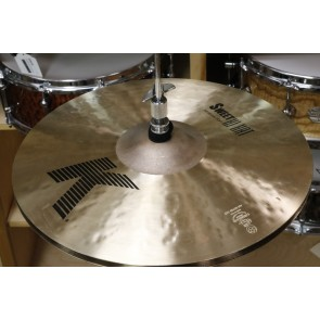 "Zildjian K Sweet 14"" Hi Hat Pair-Demo of Exact Cymbal-Top 1065g-Bottom 1488g"