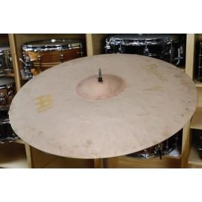 Meinl Byzance Vintage 22' Sand Crash-Ride with 3 Rivet Cluster Cymbal-Demo of Exact Cymbal-2305g