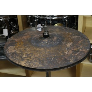 15 Byzance Vintage Pure HiHat, Pair-Demo of Exact Cymbal-Top, 1362g - Bottom, 1553g