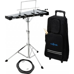 MAJESTIC BELLS & PRACTICE PAD KIT WITH TROLLEY