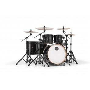"Mapex Armory 10"" 12"" 14"" 16"" 22"" Shell Pack with 14x5.5 Snare in Transparent Walnut"