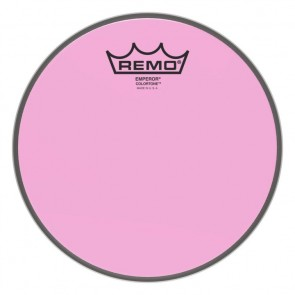 """Remo 13"""" Emperor Colortone Pink Drumhead"""