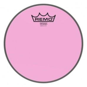 """Remo 12"""" Emperor Colortone Pink Drumhead"""
