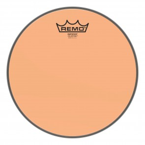 "Remo 10"" Emperor Colortone Orange Drumhead"
