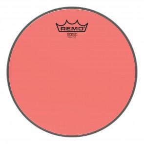 """Remo 10"""" Emperor Colortone Red Drumhead"""