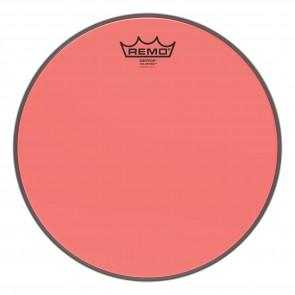 """Remo 12"""" Emperor Colortone Red Drumhead"""