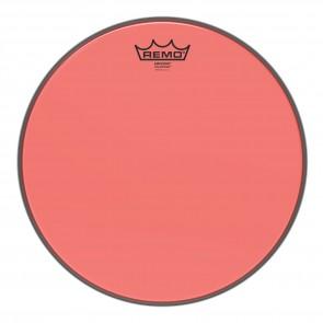 """Remo 13"""" Emperor Colortone Red Drumhead"""