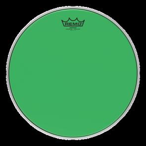 """Remo Emperor Colortone Crimplock Green 8"""" Tenor Drumhead"""