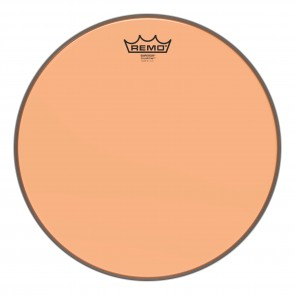 "Remo 14"" Emperor Colortone Orange Drumhead"