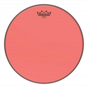 """Remo 14"""" Emperor Colortone Red Drumhead"""