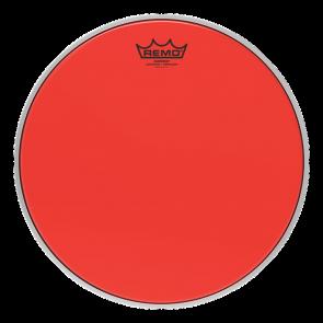 """Remo Emperor Colortone Crimplock Red 8"""" Tenor Drumhead"""