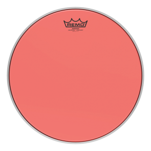 """Remo Emperor Colortone Crimplock Red 6"""" Tenor Drumhead"""