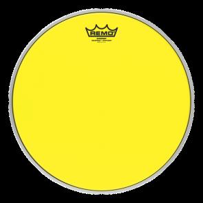 """Remo Emperor Colortone Crimplock Yellow 8"""" Tenor Drumhead"""