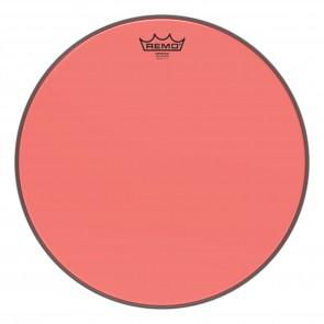 """Remo 16"""" Emperor Colortone Red Drumhead"""