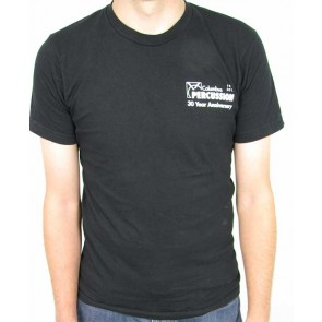 Columbus Percussion 30th Anniversary Shirt - Black