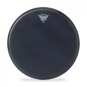 """Remo 16"""" Black Suede Emperor Batter Drumhead"""