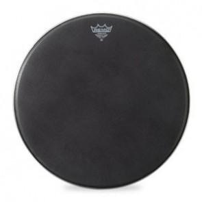 "Remo 16"" Black Suede PowerMax Bass Drumhead"