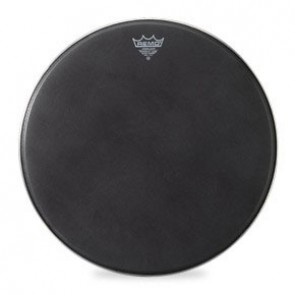 "Remo 22"" Black Suede PowerMax Bass Drumhead"