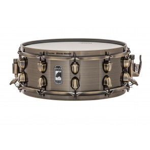 "Mapex Brass Cat Black Panther 14"" x 5"" Snare Drum Brass"
