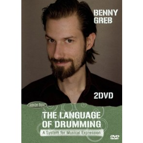 Hal Leonard Benny Greb - The Language of Drumming - A System for Musical Expression - Instructional/Drum/DVD