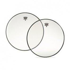"""Remo 13"""" Clear Ambassador Snare Side Drumhead w/ No Collar"""
