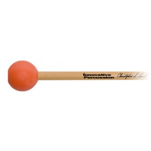 Innovative Percussion Christopher Lamb Xylophone Mallets Medium Dark/Orange Rattan