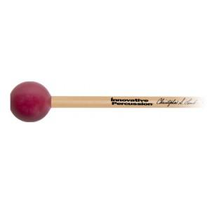 Innovative Percussion Christopher Lamb Xylophone Mallets Hard/Burgundy Rattan