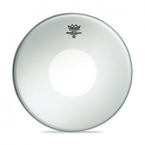 "Remo 8"" Coated Controlled Sound Batter Drumhead w/ Black Dot On Bottom"