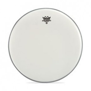 """Remo 18"""" Coated Smooth White Emperor Batter Drumhead"""