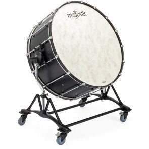 MAJESTIC 36 x 18 Concert Bass Drum w/ Tilting Stand