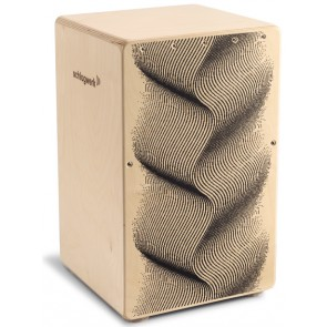 chlagwerk CP120 X-One Series Cajon - Illusion Design with FREE Back Pack Bag